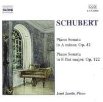 SCHUBERT: Piano Sonatas D.845 and 568
