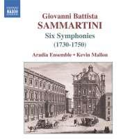 SAMMARTINI: Six symphonies