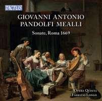 Pandolfi : Sonate, Roma 1669