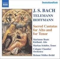 BACH / HOFFMANN / TELEMANN: Alto and Tenor Cantatas