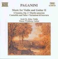 PAGANINI: Violin & Guitar 2