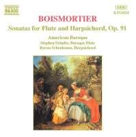 BOISMORTIER: Sonatas for Flute