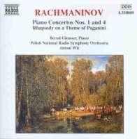 RACHMANINOV: Piano Concertos vol. 1