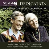 Dedication - The Clarinet Chamber Music of Ruth Gipps