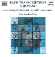 Bach Transcriptions for Piano