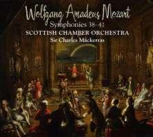 MOZART: Symphonies 38 - 41
