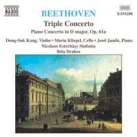 BEETHOVEN: Triple Concerto; Piano Concerto, Op. 61a