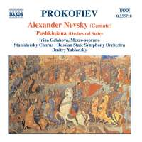 PROKOFIEV: Alexander Nevsky; Pushkiniana