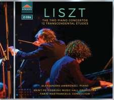 Liszt: 2 Piano Concertos; 12 Transcendental Etudes