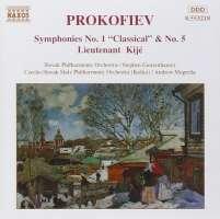 PROKOFIEV: Symphonies Nos. 1 and 5
