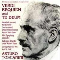 Verdi: Requiem and Te Deum