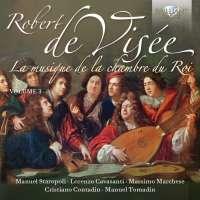 De Visée: La musique de la chambre du Roi Vol. 3
