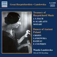 Landowska: Treasury of Harpsichord Music - Dances of Ancient Poland