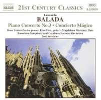 BALADA: Piano Concerto No. 3; Concierto Magico