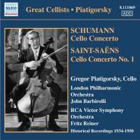 Gregor Piatigorsky: Concertos and Encores