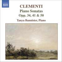 CLEMENTI: Piano Sonatas, Op. 34, 41 & 50