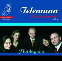 Telemann: Paris Quartets, Volume 2