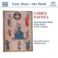 Codex Faenza - Instrumental Music of the Early 15th Century