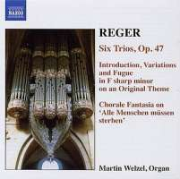 REGER: Organ Works, Vol. 6 - Introduction, Variations and Fugue on an Original Theme; 6 Trios