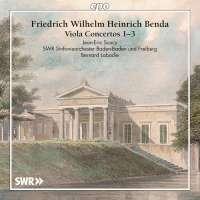 Benda: Viola Concertos Nos. 1 - 3