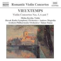 VIEUXTEMPS: Violin Concertos 5 - 7