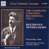 Beethoven: Violin Concerto/Mendelssohn: Violin Concerto