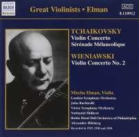 Tchaikovsky/Wieniawski: Violin Concertos