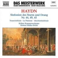 HAYDN: Sinfonien Nr 44, 45, 49