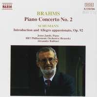 BRAHMS: Piano Concerto No. 2 / SCHUMANN: Introduction and Allegro appassinato
