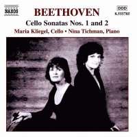 BEETHOVEN: Cello Sonatas nos. 1 and 2