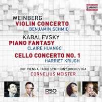 Weinberg & Kabalevsky: Concertos