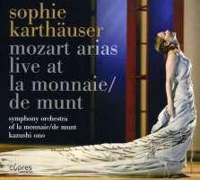 Mozart Arias Live at la Monnaie-de Munt