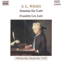 Weiss: Lute Sonatas Nos. 12 and 39, Lute Partita in D Minor