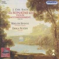 Bach, JC: Keyboard Sonatas with Violin Accompaniment, Op. 10 Nos 1-6