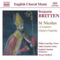 BRITTEN: St.Nicolas-Cantata op.42