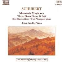 Schubert: 6 Moments Musicaux, D. 780, 3 Piano Pieces, D. 946