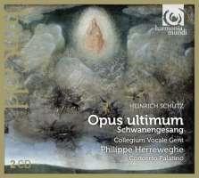 Schütz: Opus ultimum, Schwanengesang