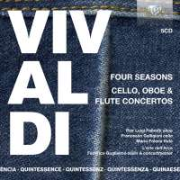 Quintessence Vivaldi: Four Seasons; Cello, Oboe & Flute Concertos