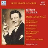 Great Singers - Tauber - Opera Arias, Vol 2