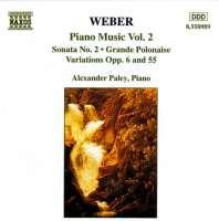 WEBER: Piano Music, Vol. 2