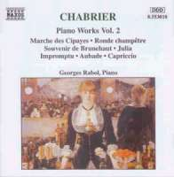CHABRIER: Piano Works vol. 2