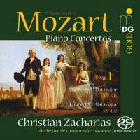 Mozart: Piano concertos vol. 1