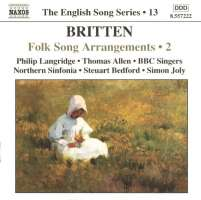 BRITTEN: Folk Songs Arrangements 2