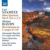 STAMITZ: Oboe Quartets op. 8 / HAYDN: Divertimento