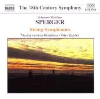 SPERGER: String Symphonies