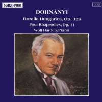 DOHNANYI: Ruralia Hungarica, Four Rhapsodies