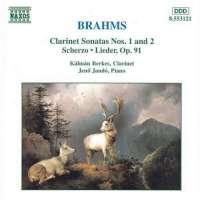 BRAHMS: Clarinet Sonatas (op.120 Nr.1 & 2)