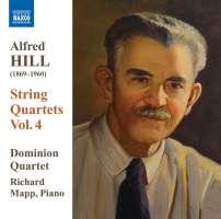 HILL: String Quartets Vol. 4