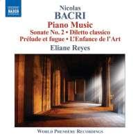 BACRI: Piano Music