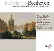 Beethoven: Piano Concerto No. 5, Symphony No. 4
